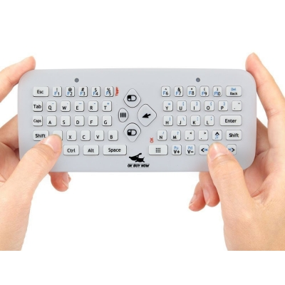 OkBuyNow Rechargeable Portable USB 2.4GHz Cordless Air Fly Mice Keyboard Combo