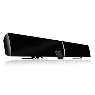 LuguLake 40watt TV Soundbar Speaker Stereo 2.0 Channel Home Theater W/ NFC Bluetooth