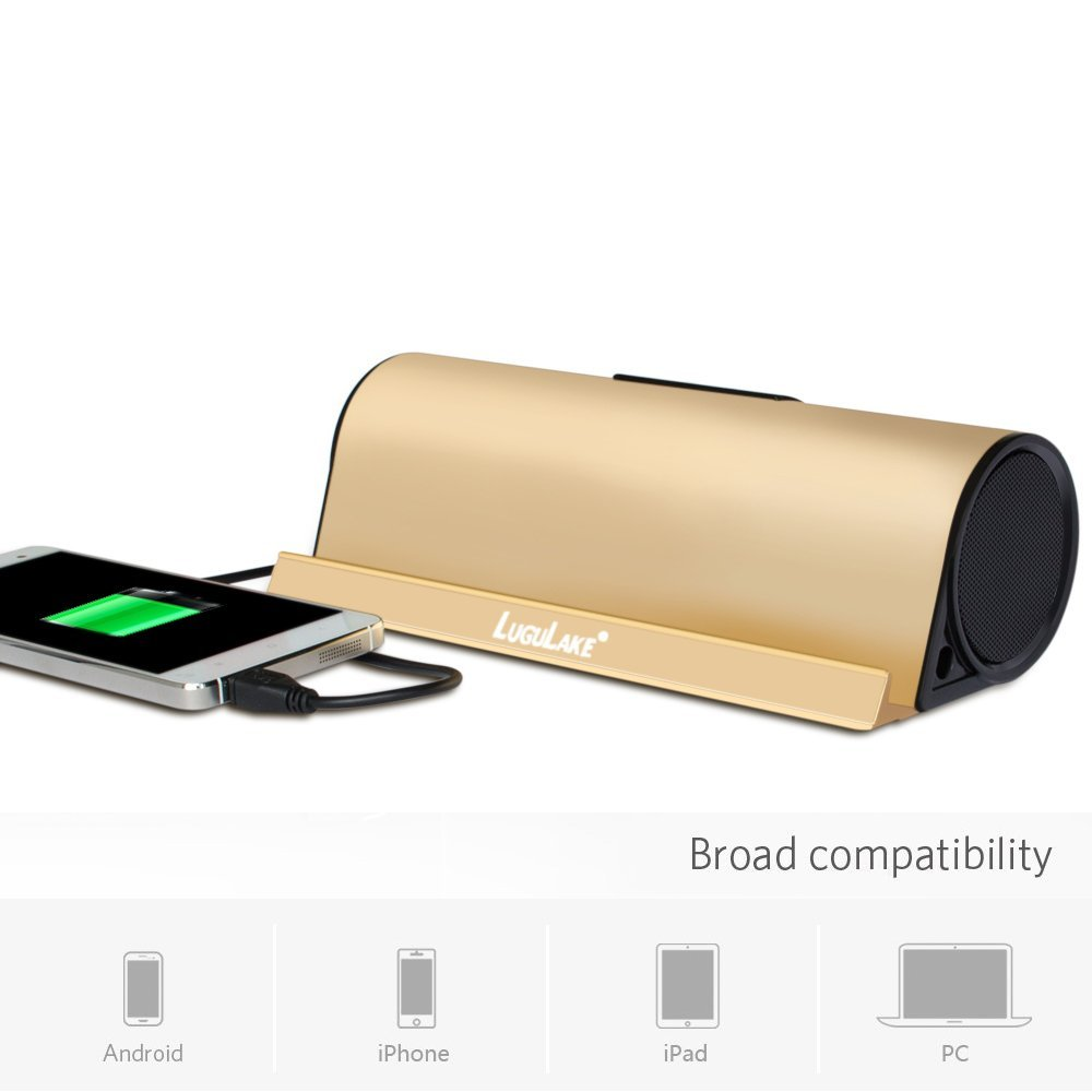 LuguLake 10Watt Bluetooth Speaker II 5000mAh Battery Pack