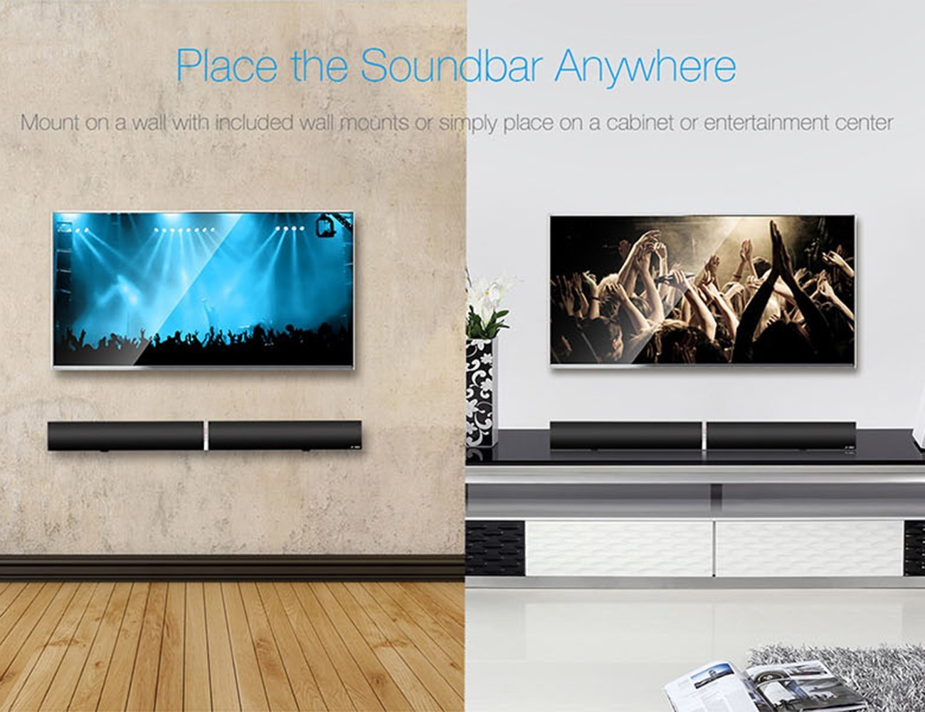 LuguLake Soundbar